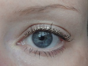Gold Colored Eye Liner to make your eyes pop!