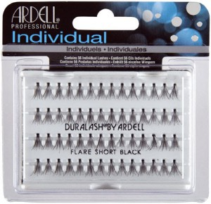 Ardell Professional Individual Duralash by Ardell Flare Short Black Madame Madeline Lashes