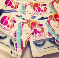 Eylure 65th Anniversary Edition- Rare Collectable Lashes