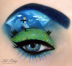 """The famous """"Dancing In The Hills"""" Eye Makeup"""