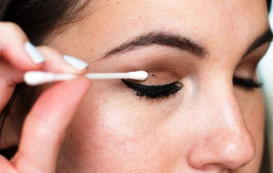 ruining your eyeshadow? Remove it with this technique