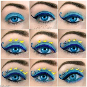 """Making Of """"The Ugly Duckling"""" Eye Makeup"""