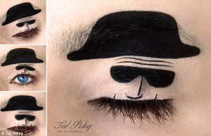 """Notorious Walter White from The """"Breaking Bad"""" Eye Makeup"""
