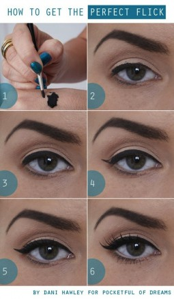 Steps to Perfect Cat Liner