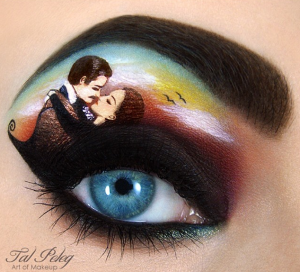 Gone With The Wind Eye Makeup