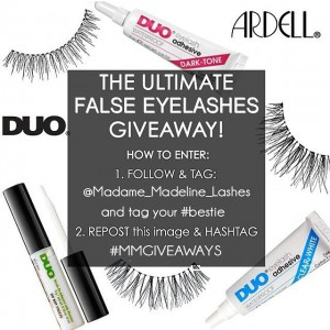 Ultimate False Eyelashes Giveaway - mmgiveaways