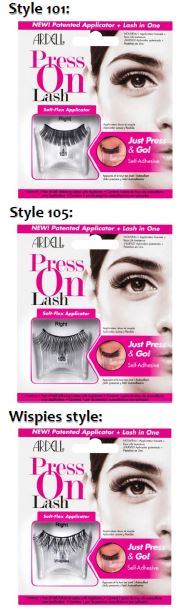 ardell-press-on-lash-101-and-105-and-wispies