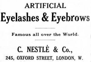 1911 C. Nestlé & Co., founded in London by Charles Nessler.