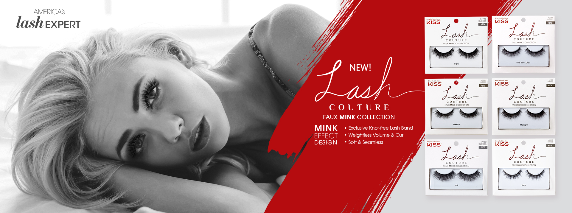 Kiss Lash Couture Faux Mink Collectio