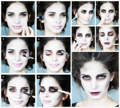 Halloween Costume Makeup