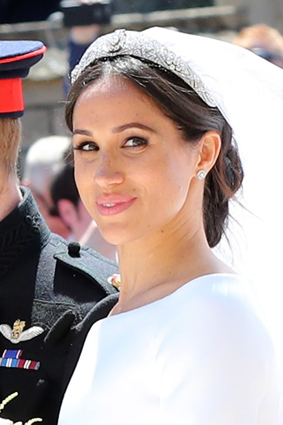 Meghan Markle's wedding Hair On Point