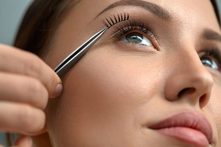 Beauty Tips on False Eyelashes