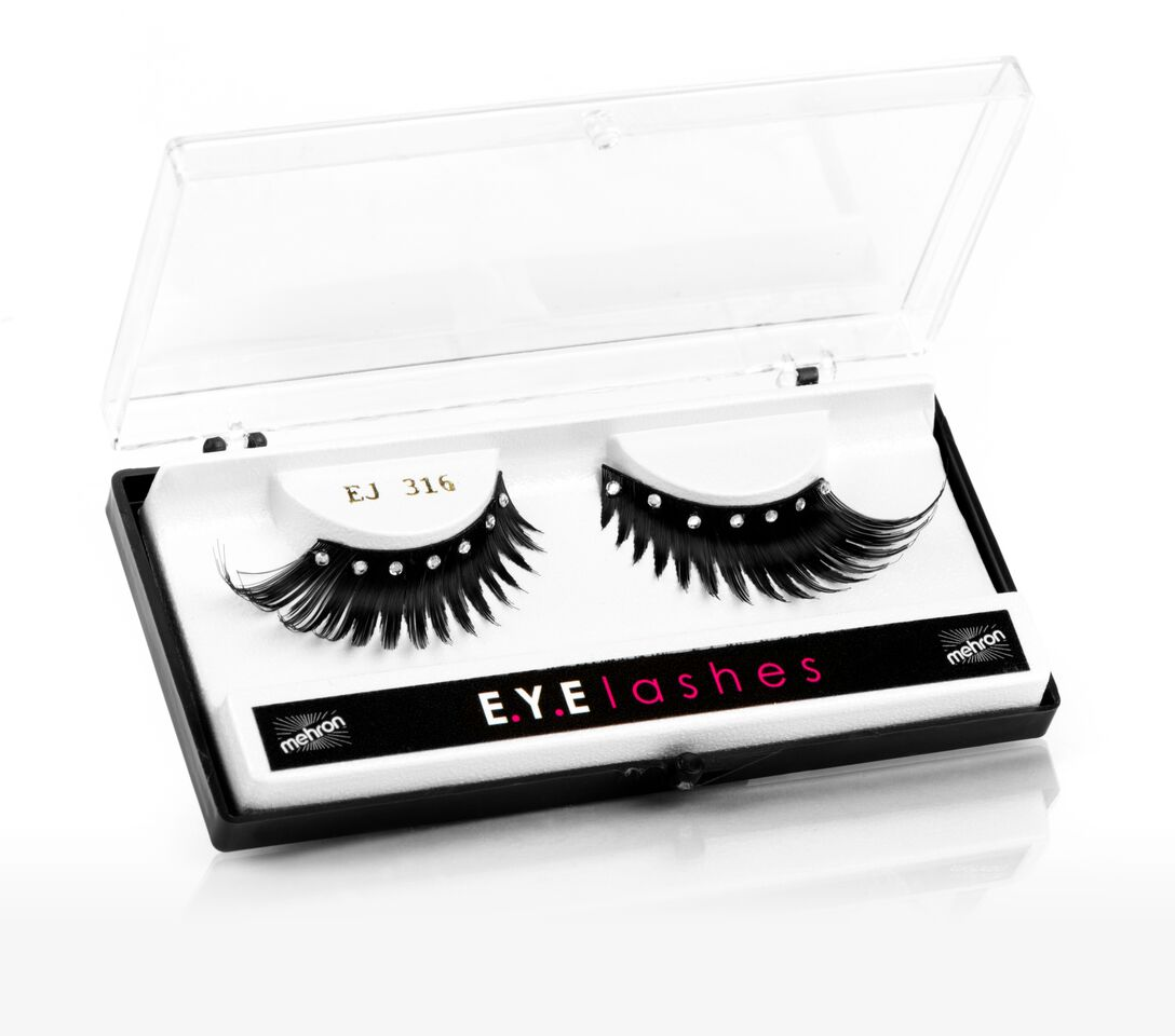Mehron Eye Makeup E.Y.E Lashes Diamond Feather (225-D)