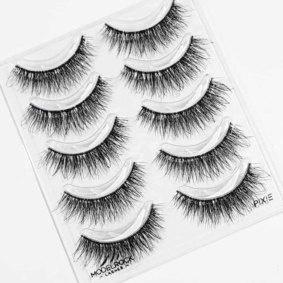 ModelRock PIXIE Double Layered lashes - 5 Pairs Lash Multi Pack