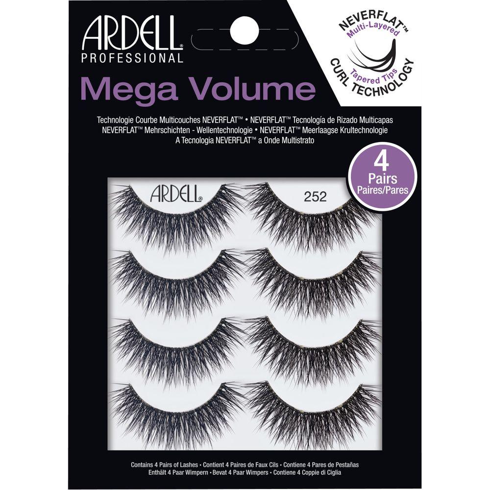 Ardell Professional Mega Volume 4 Pack Lash 252 Multipack (67889)