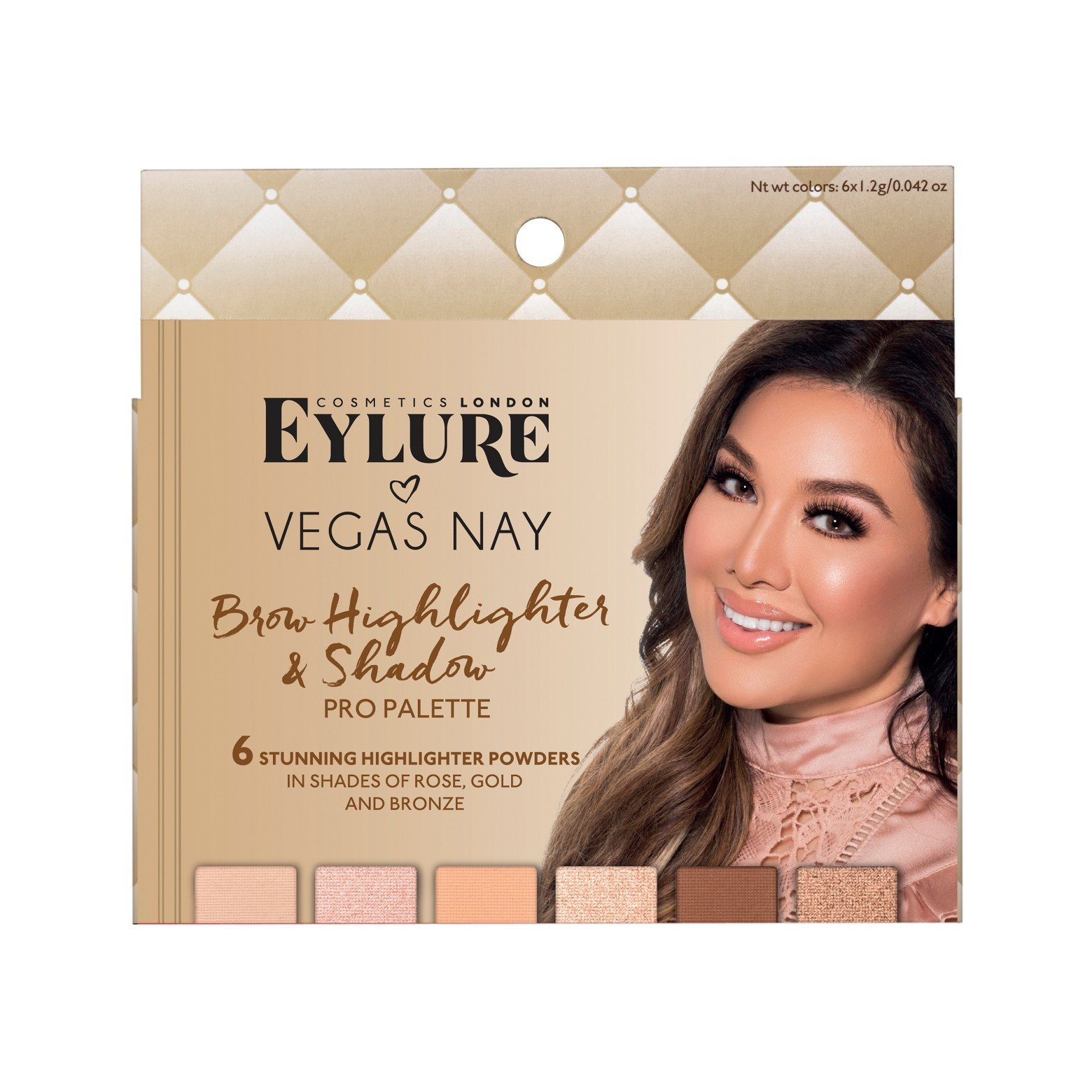 Eylure Vegas Nay Brow Highlighting Palette