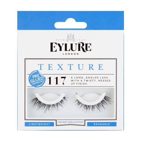 Eylure Pre-Glued TEXTURE Lashes N° 117