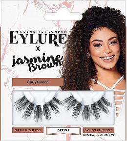 EYLURE X Jasmine Brown Curly Queen Lashes