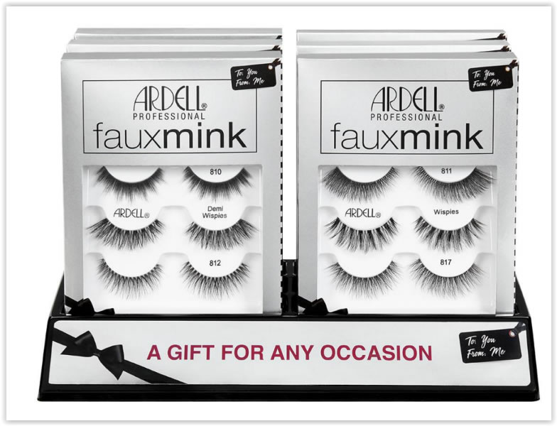 Ardell Faux Mink 3  Pack 6 Pc Display