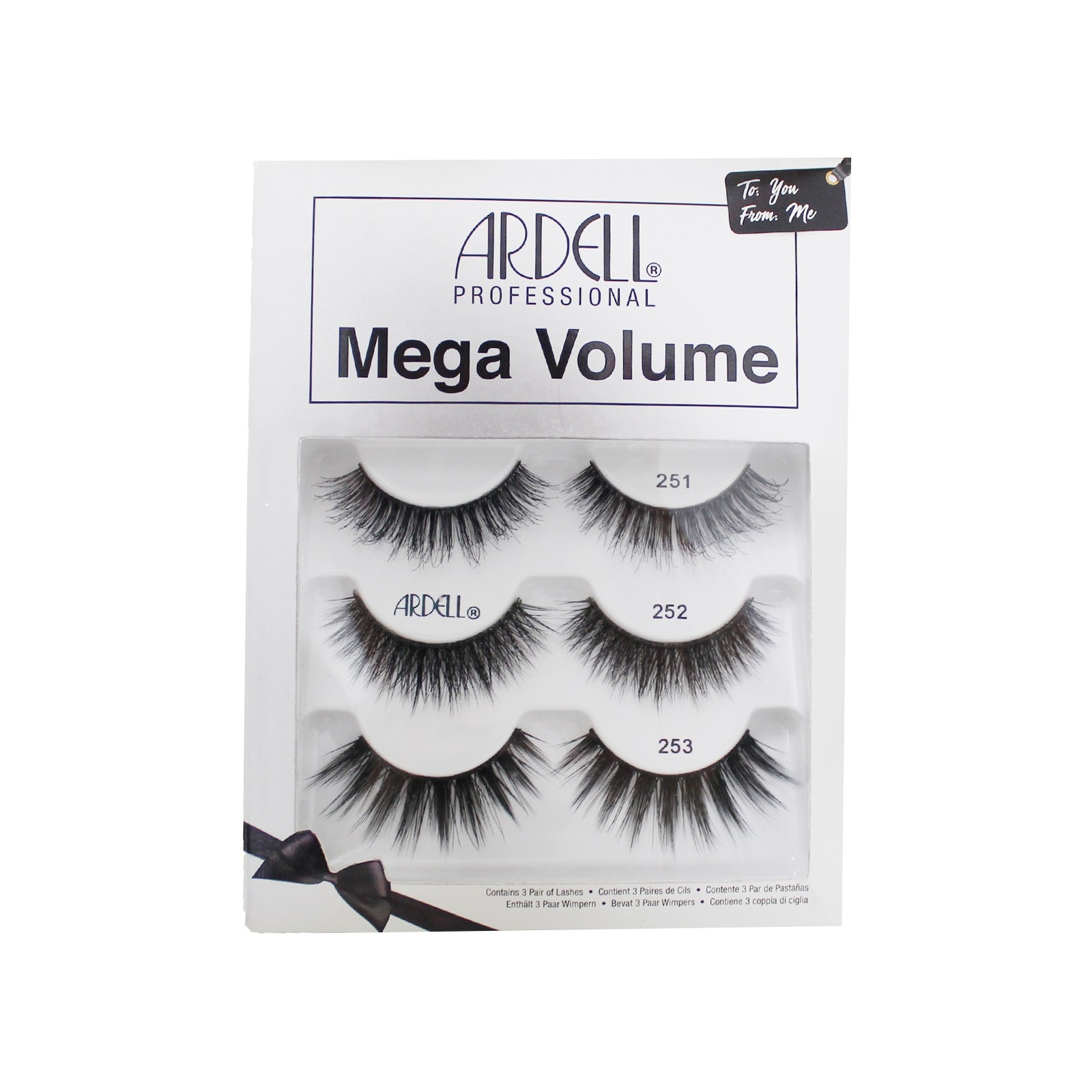 Ardell Mega Volume Holiday 3 Pack (71139)