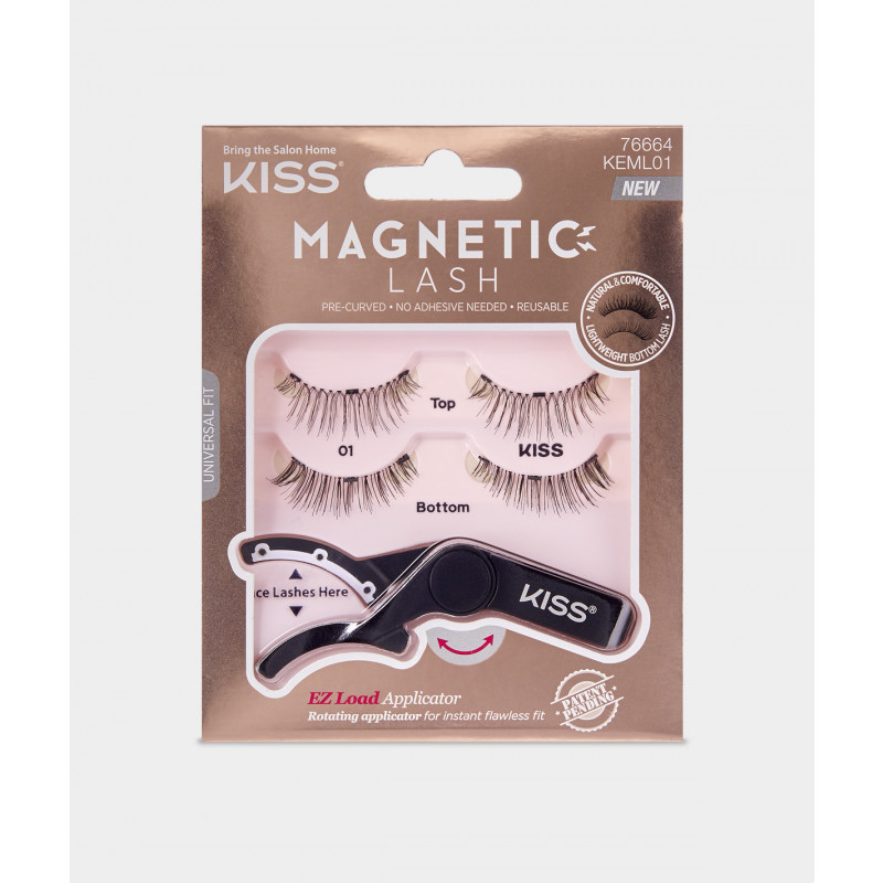 Kiss Magnetic Lash 01 (KEML01)