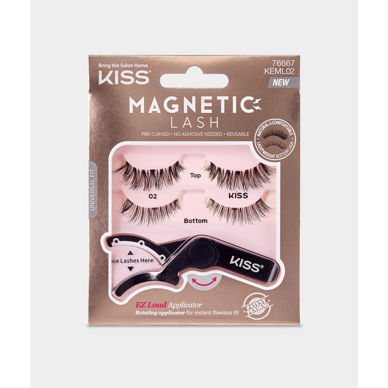 Kiss Magnetic Lash 02 (KEML02)