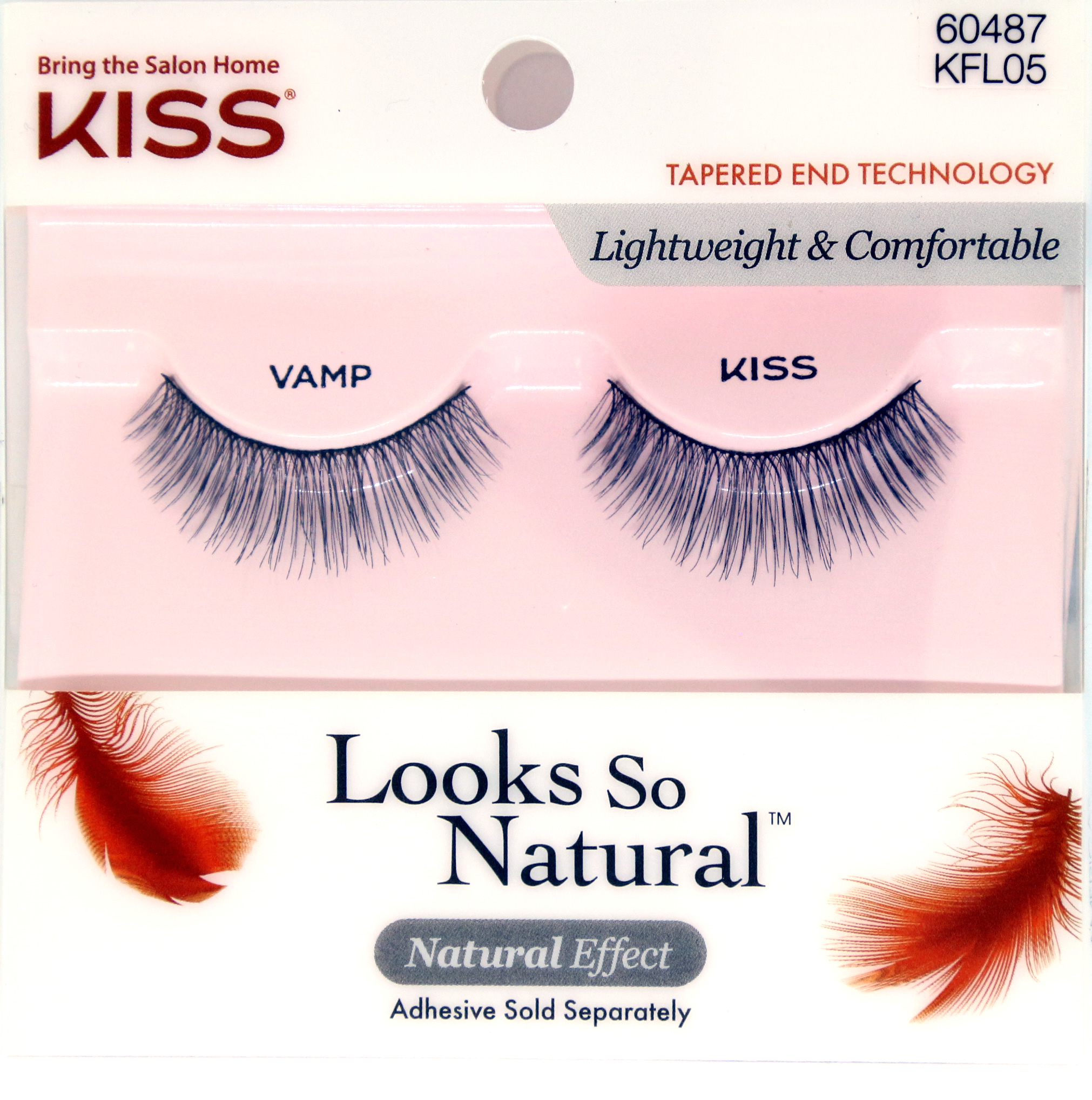 KISS Looks So Natural Lashes - Vamp (KFL05)