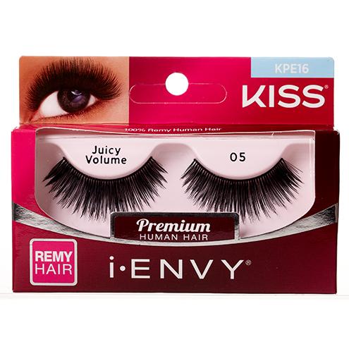 KISS i-ENVY Premium Juicy Volume 05 Lashes (KPE16)