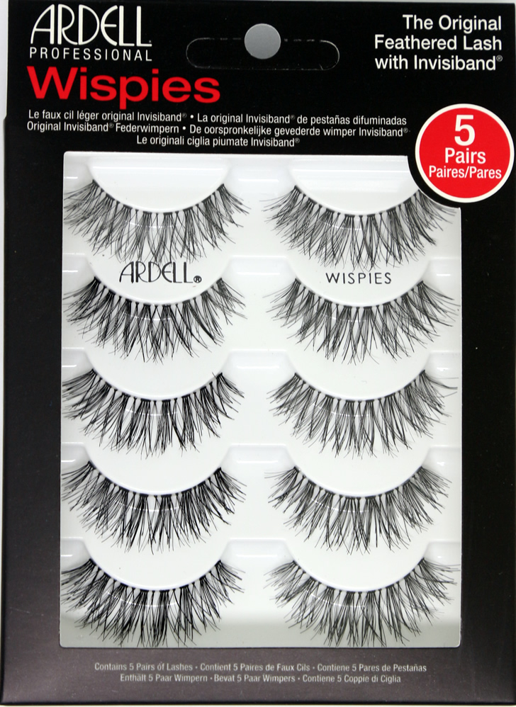 Ardell 5 Pack Lashes - Wispies (68984)