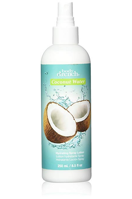 Body Drench Coconut Water Hydrating Spray Body Lotion 8.5 fl oz