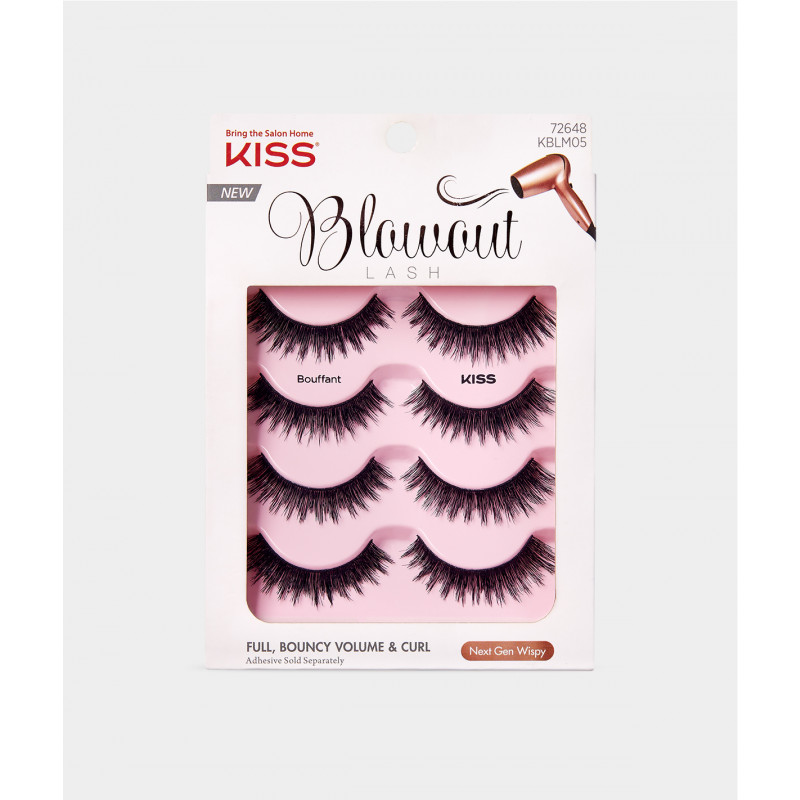 Kiss Blowout Lash Multipack - Bouffant
