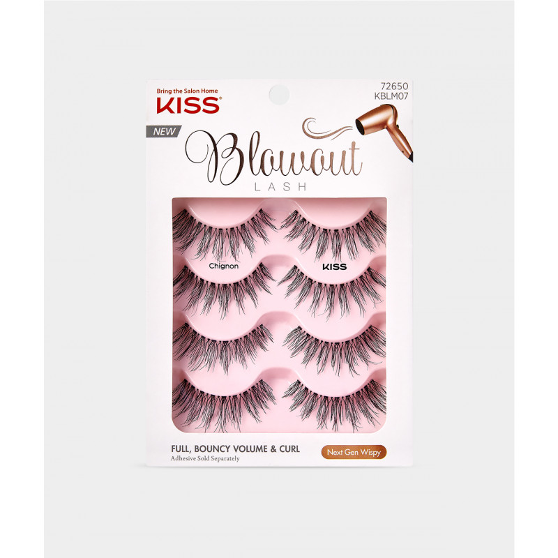Kiss Blowout Lash Multipack - Chignon
