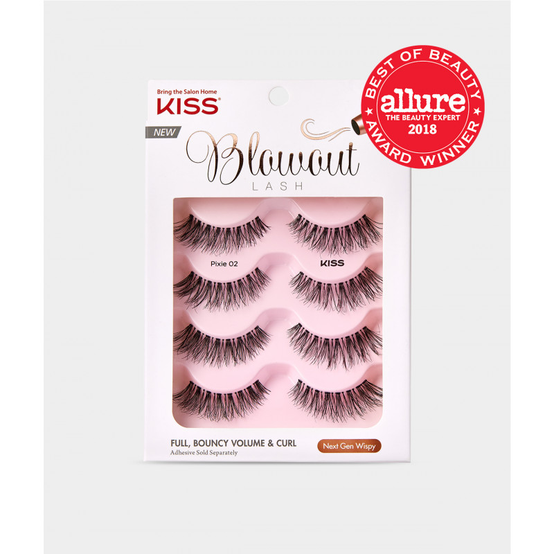 Kiss Blowout Lash Multipack - Pixie
