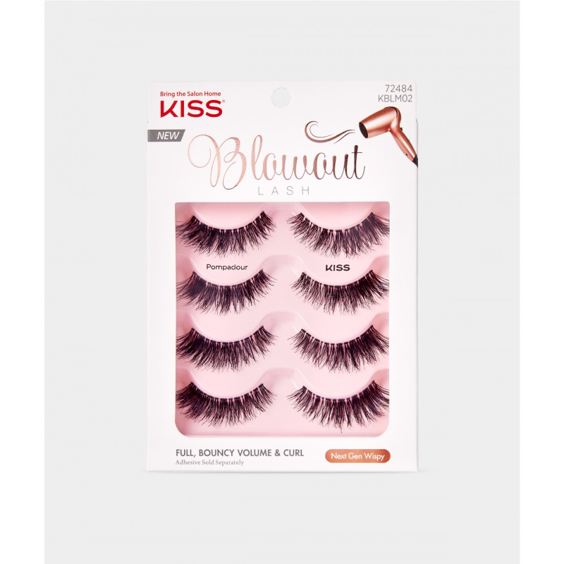 ac020b004fa Kiss Blowout Lash Multipack - Pompadour, i-ENVY Strip Lashes by KISS -  Madame Madeline Lashes