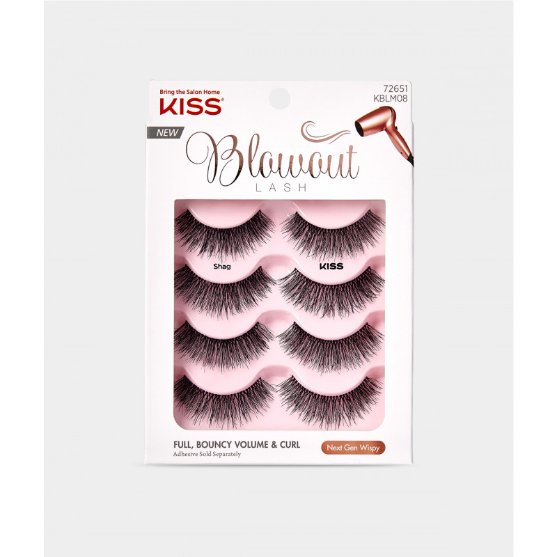 Kiss Blowout Lash Multipack - Shag