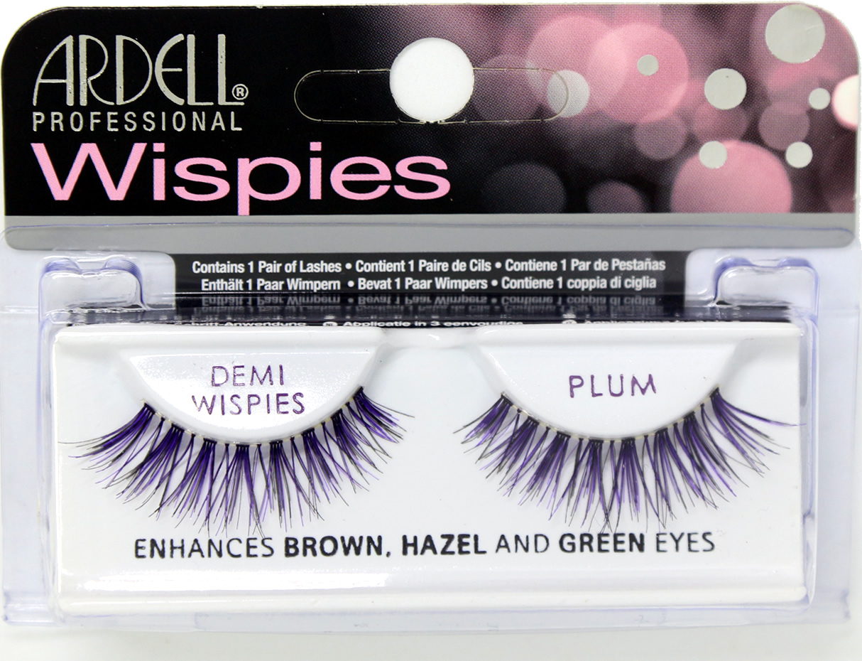Ardell Professional Color Impact Demi Wispies PLUM