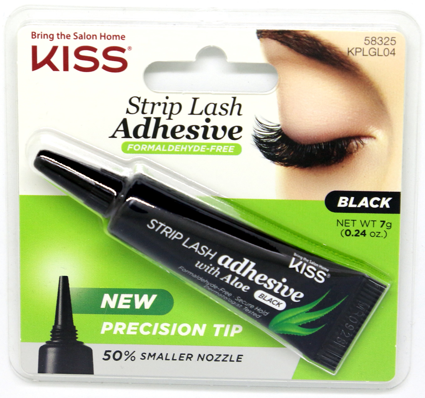 Kiss Ever EZ Strip Lash Adhesive with Aloe Dark Tone (KPLGL04)