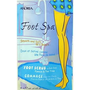 Andrea Foot Spa - Foot Scrub a Dub Dub  (1 Packet)