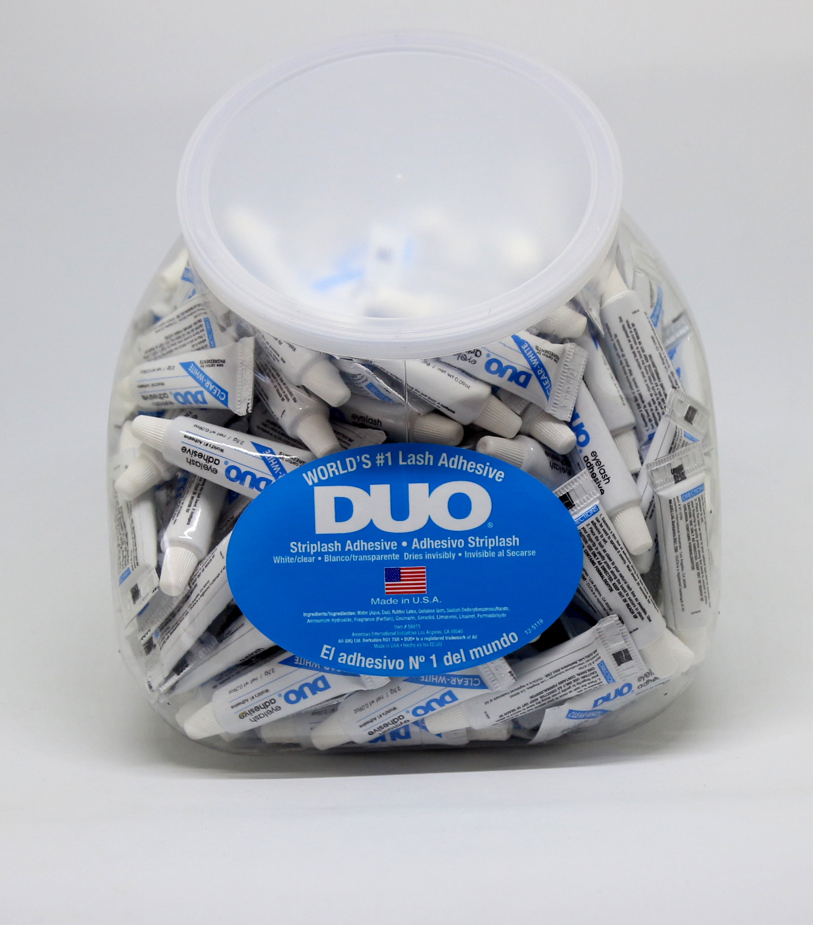 DUO Eyelash Adhesive 0.09oz Clear Fish Bowl