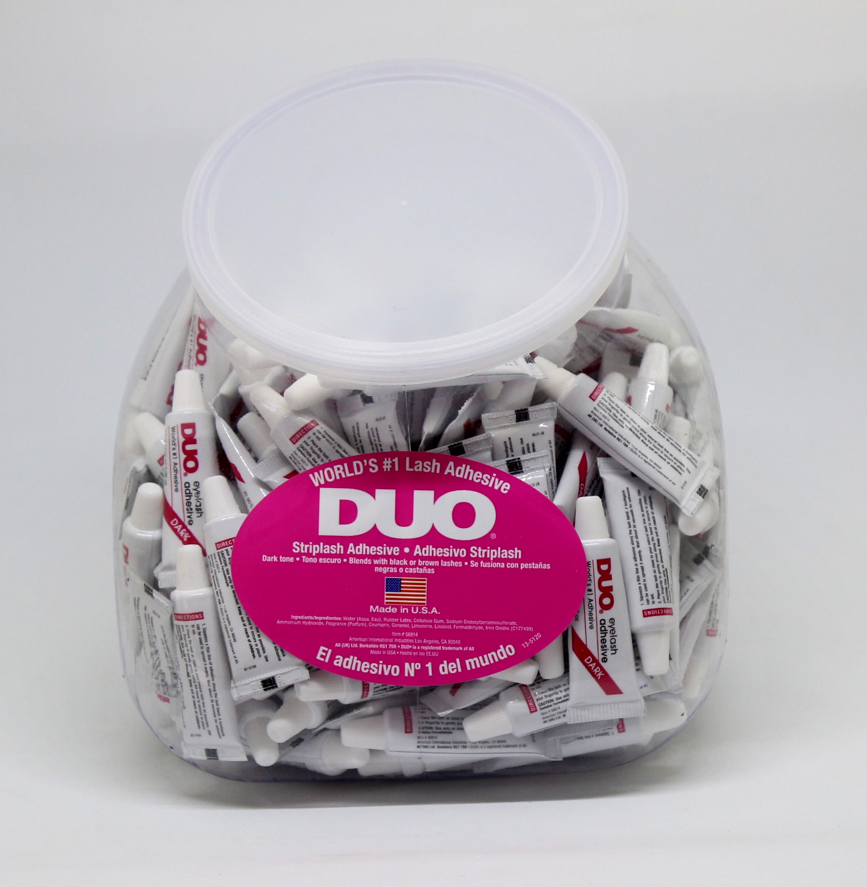 DUO Eyelash Adhesive 0.09oz Dark Fish Bowl