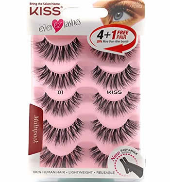 KISS EVER-EZ Multi-Pack (Lash #01)