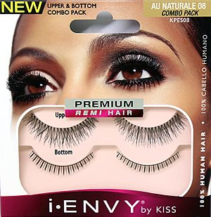 KISS i-ENVY Premium Au Naturale 08 COMBO PACK (KPES08)