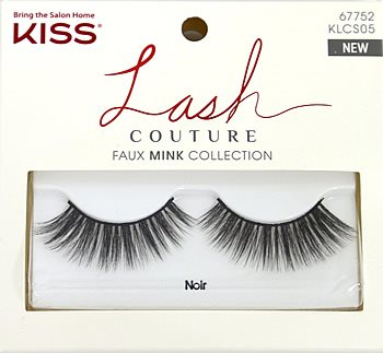 Kiss Lash Couture Faux Mink Collection - Noir Eyelashes