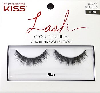 Kiss Lash Couture Faux Mink Collection - Pitch Eyelashes