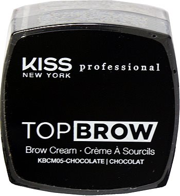 Kiss NY Pro Top Brow Cream  - Chocolate