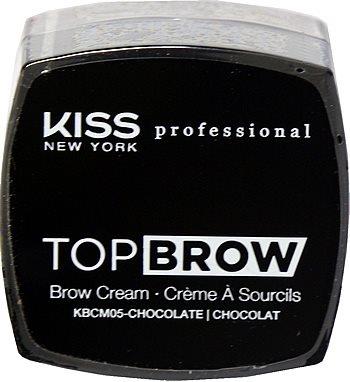 Kiss NY Pro Top Brow Cream  - Chocolate