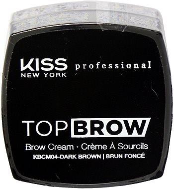 Kiss NY Pro Top Brow Cream  - Dark Brown