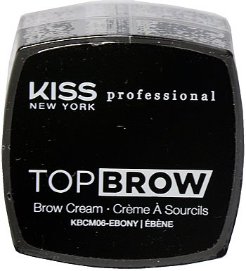 Kiss NY Pro Top Brow Cream  - Ebony