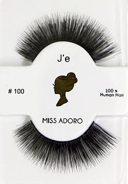 Miss Adoro False Eyelashes #100 (Scarlet)