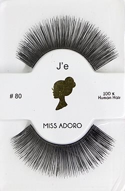Miss Adoro False Eyelashes #80 (Lisa)